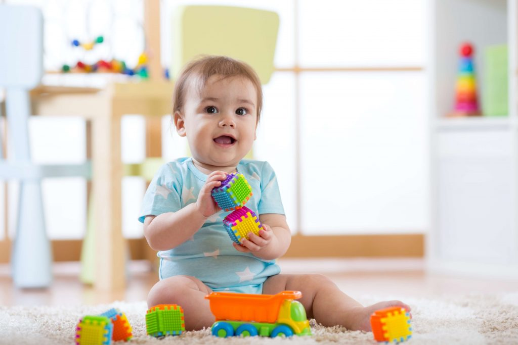 Babies need to be engaged in activities that help physical and mental development.