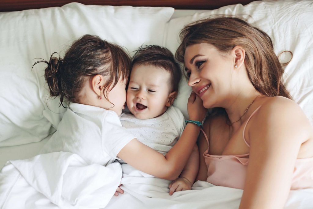 Motherhood brings a lot of responsibility but also the need for self-love with it.