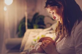 breastfeeding promotes bonding between mother and child.