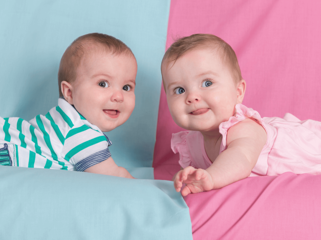 Twins are not always identical or even of the same gender.