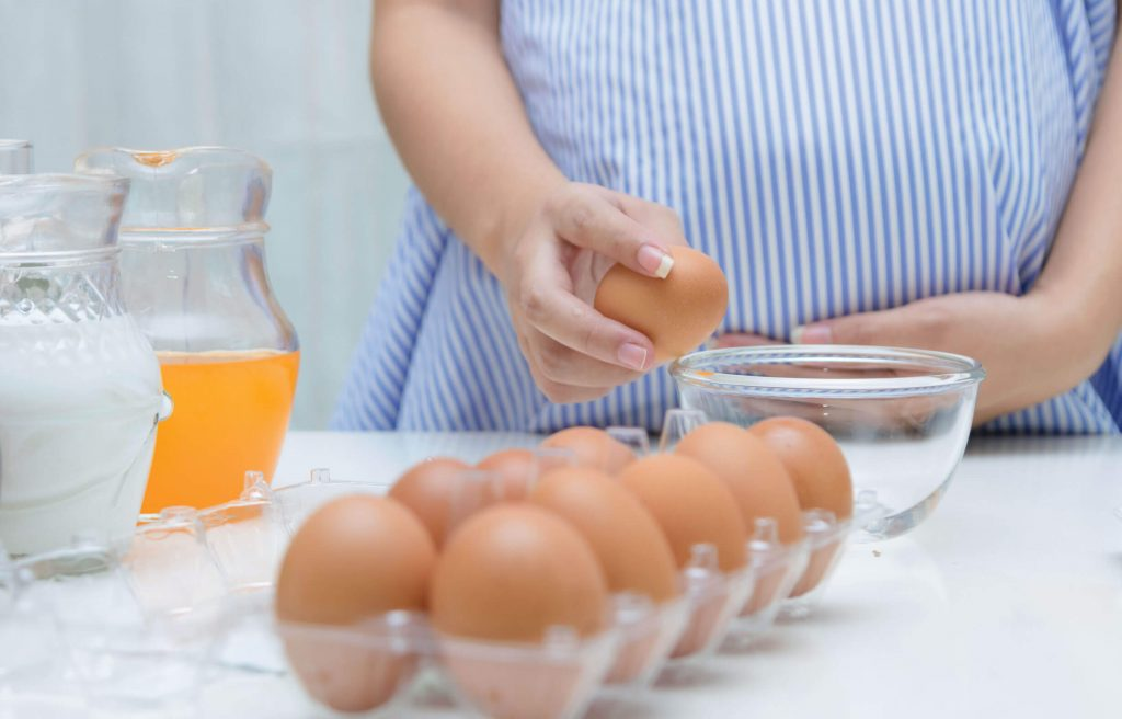 Eggs are commonly eaten food that is also great for pregnancy nutrition
