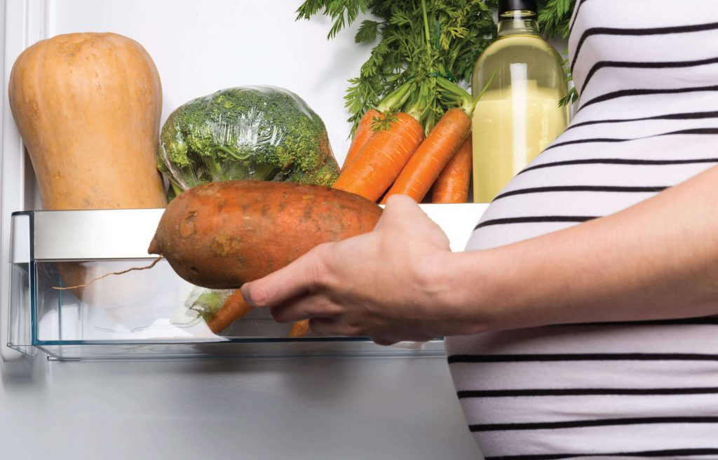 Sweet potatoes are often the most underestimated part of a pregnant woman's diet