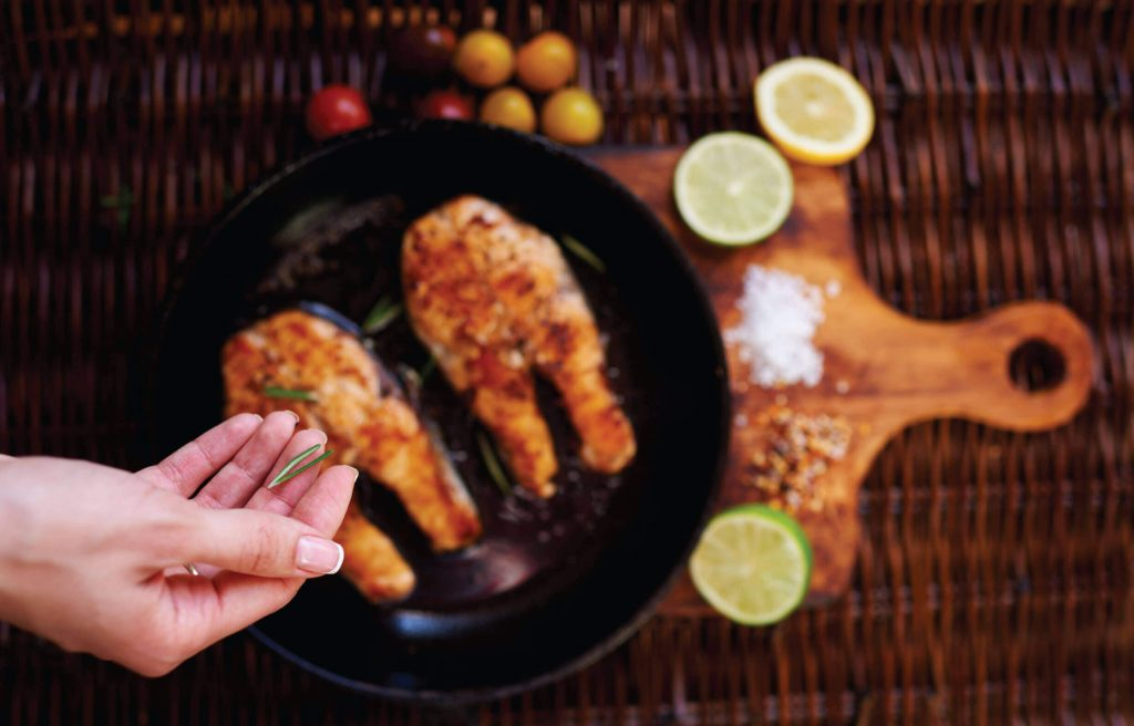 While other seafood may not be healthy during pregnancy, Salmon is the exception