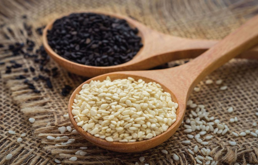 Sesame seeds are used in different foods like chinese dishes, indian sweets and many others.