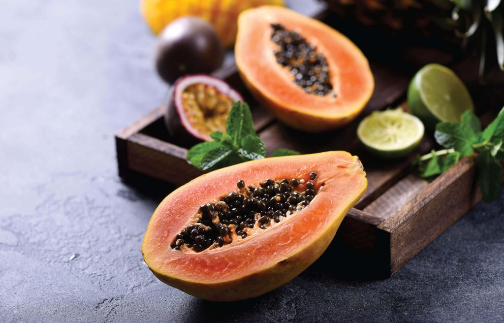 Papaya and its seeds are both highly nutritious.