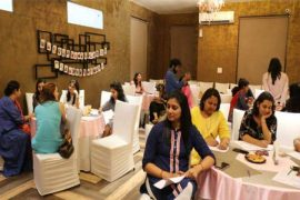 Interactive session for young mothers