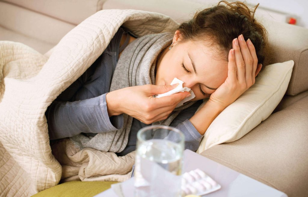 Flu like symptoms of pregnancy can also include cold and cough.