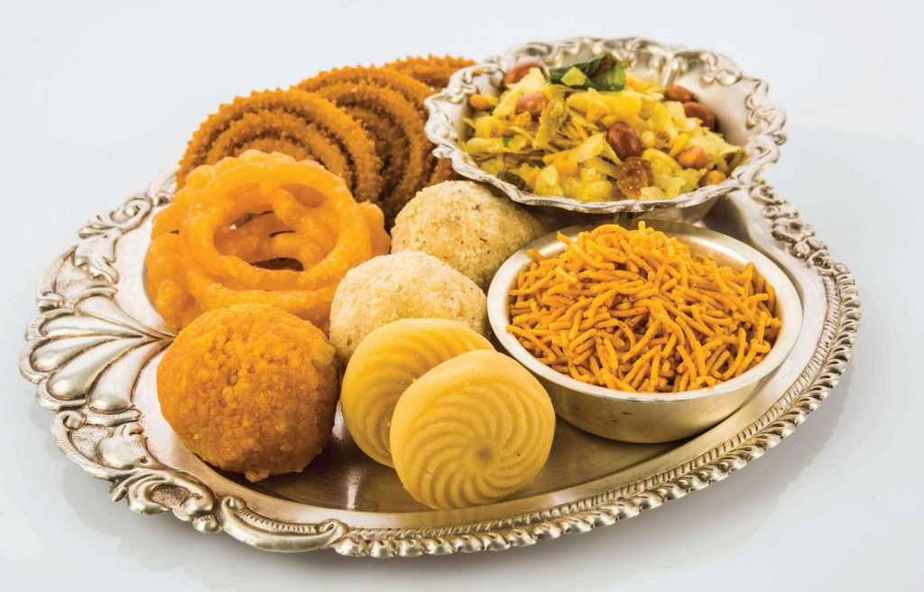 Diwali sweets and foods