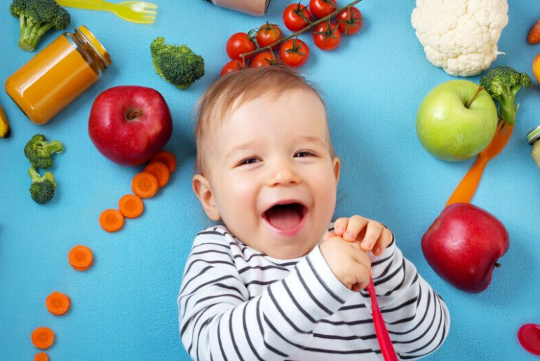 12-month baby food chart along with a diet plan