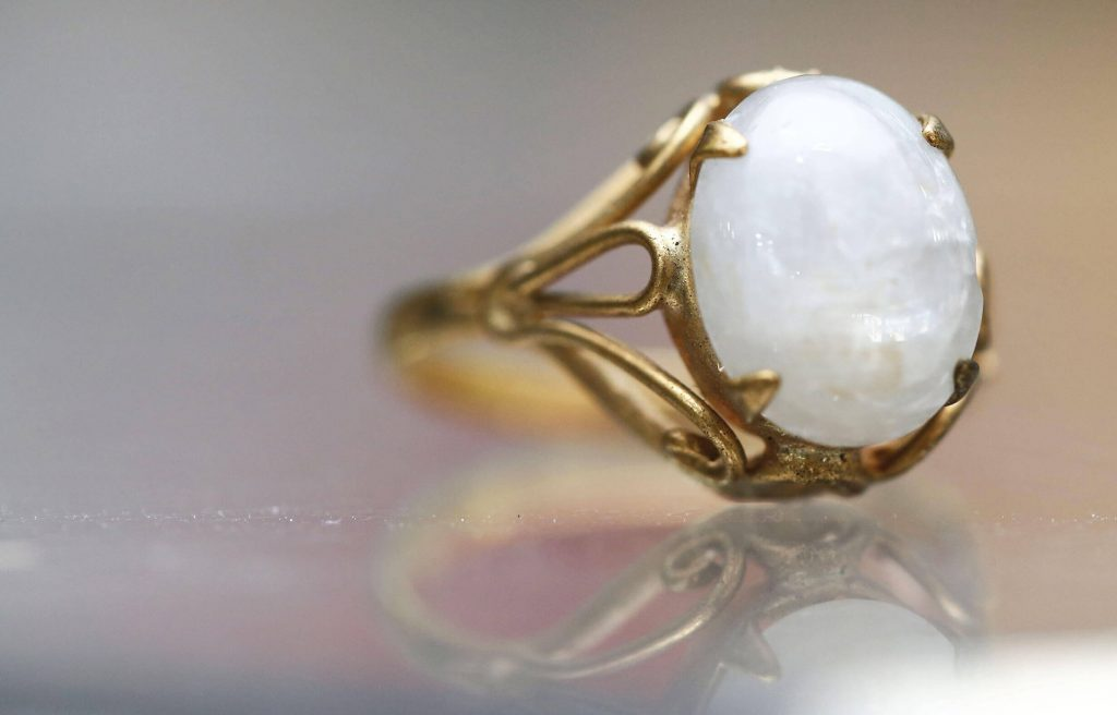 A ring made from breast milk jewellery DIY